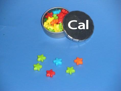 קופסת סוכריות עם לוגו